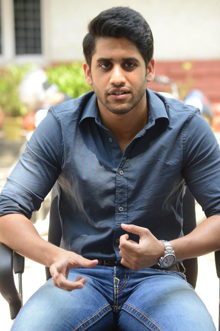 Naga Chaitanya Graced The Interview Of Thadaka Movie