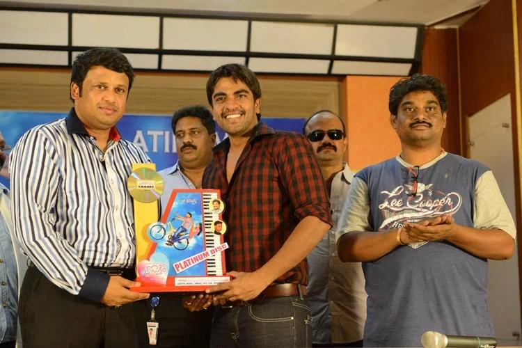 Srinivas Launches Love Cycle Platinum Disc