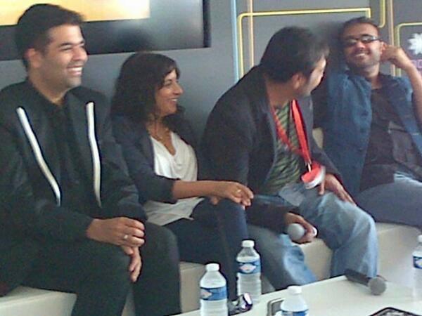 Anurag, Dibakar, Karan and Zoya Akhtar At Press Conference Of Bombay Talkies at Cannes