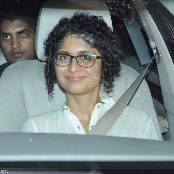 Kiran Snapped At The Birthday Bash Of Karan Johar's Birthday Bash