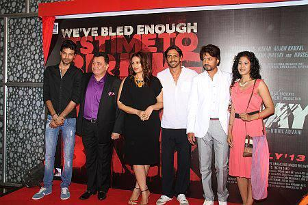 Star Cast At First Look Launch Of D - DAY