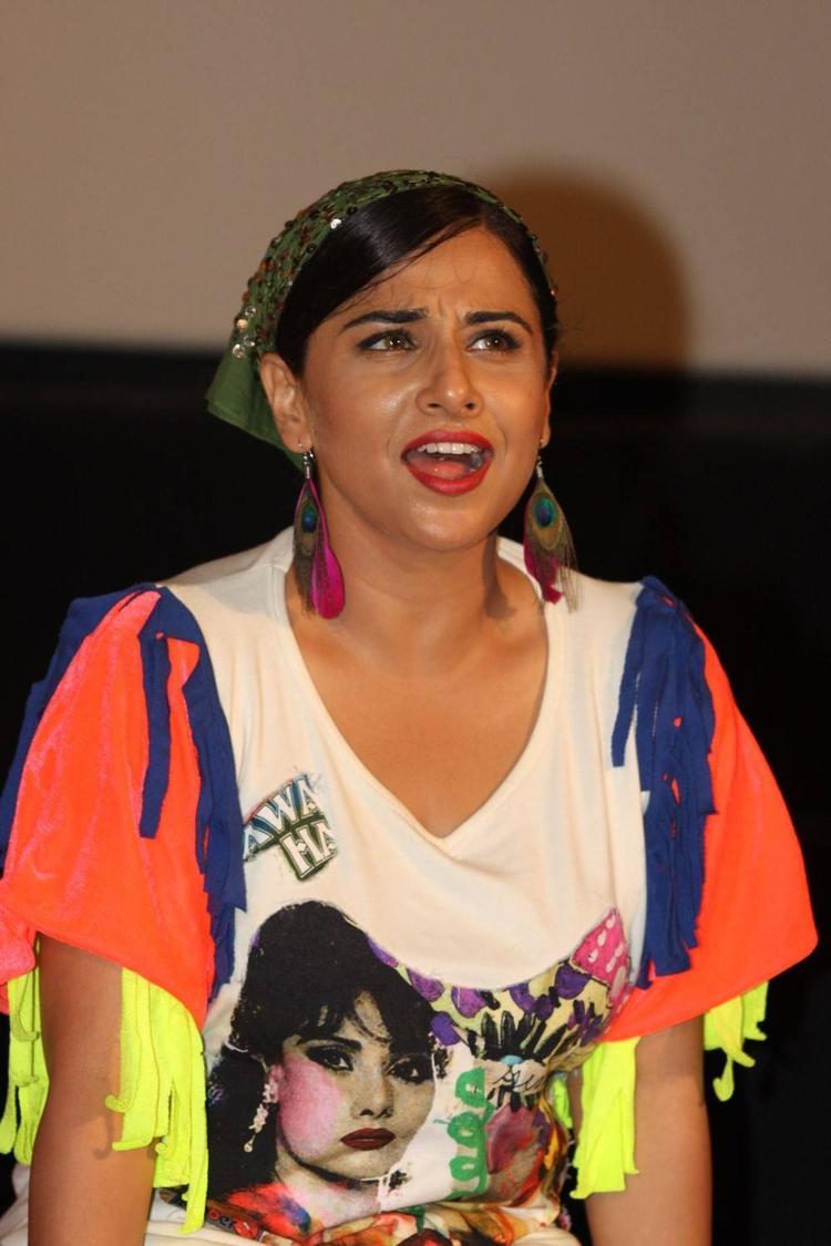 Vidya Balan At The Music Launch Of Ghanchakkar Song Lazy Lad