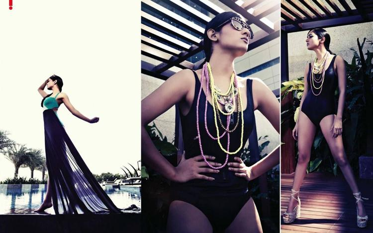 Sonal Chauhan Hot Sizzling Spicy Hot Look Photo Shoot For Hello! India Magazine June 2013