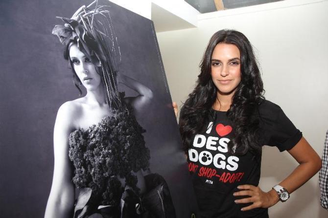 Neha Dhupia Endorses PETA's Latest Campaign