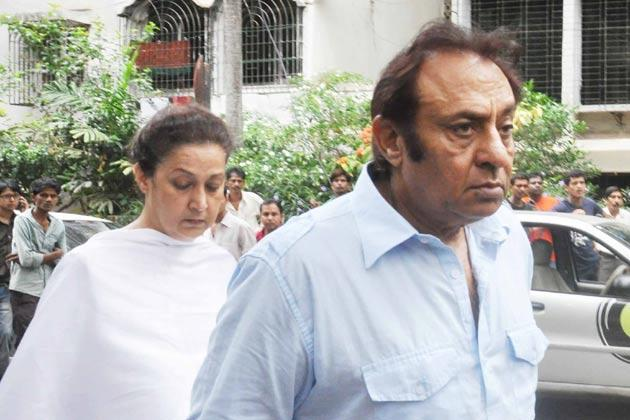 Actor Ranjeet At Jiah Khan's Funeral In Mumbai