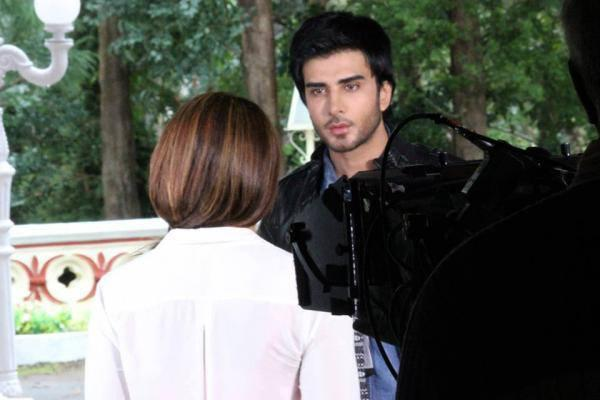 Imran Abbas Handsome Look On The Sets Of Creature
