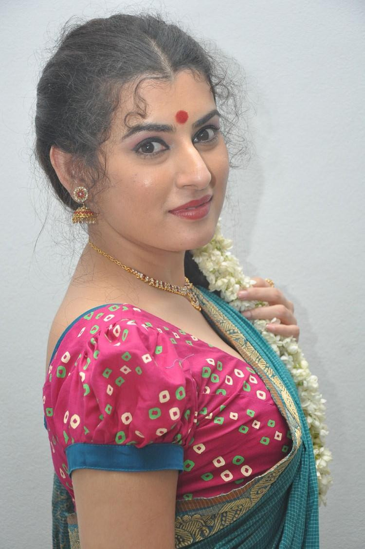 Archana Hot Sizzling Pose At Maha Bhaktha Siriyala Movie Audio Release Function
