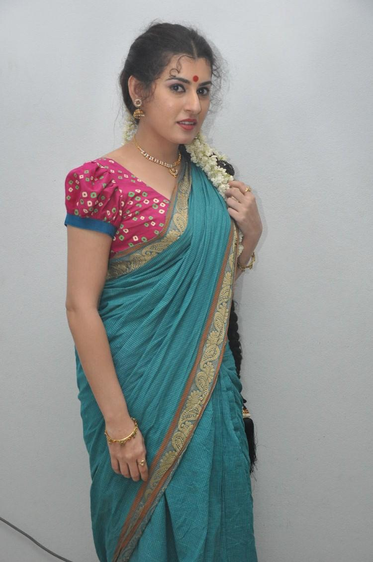 Archana Sexy Look In Saree At Maha Bhaktha Siriyala Movie Audio Release Function