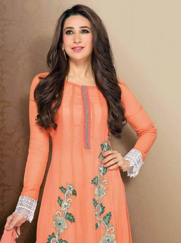 Karisma Looks Beautiful In This Orange Dress