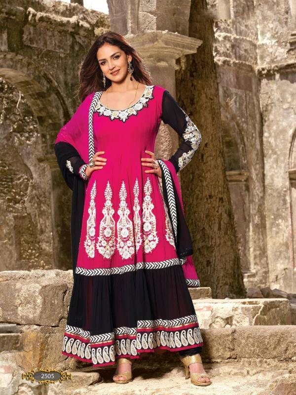 Esha Deol Nice Look For Indian Designer Wear