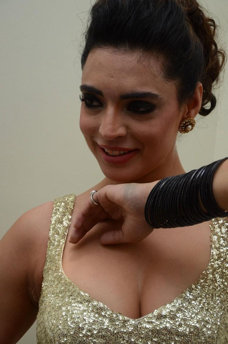 Shweta Bhardwaj Dazzling Face Look Still At Adda Movie Audio Release Function