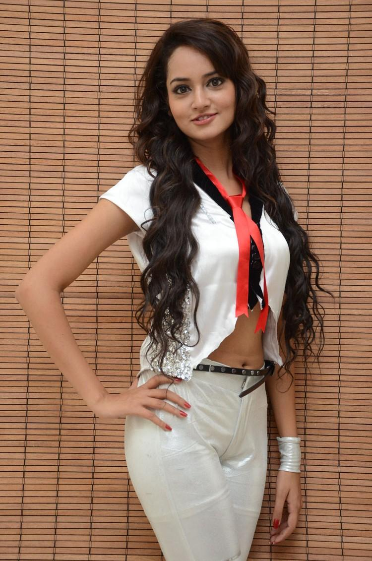 Shanvi Strikes A Nice Pose At Adda Movie Audio Launch Function