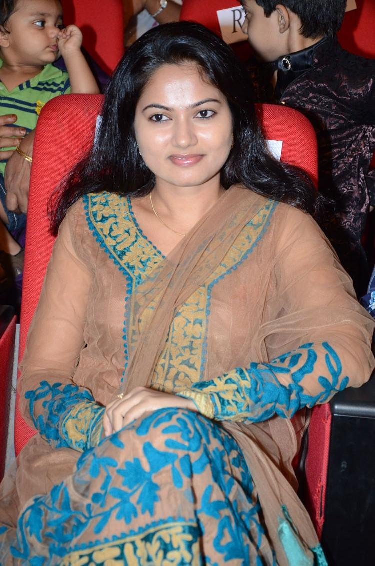 Suhasini In Chudidar Glamour Look At Adda Movie Audio Release Function