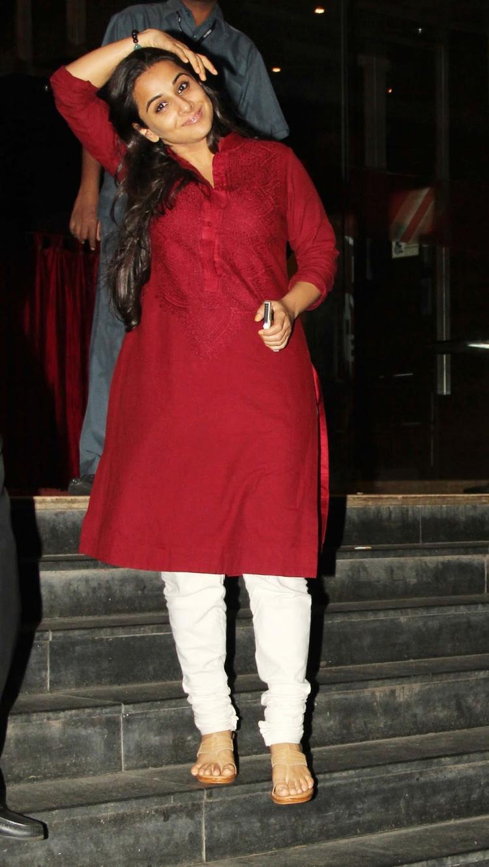 Vidya Balan Dazzles At The Special Screening Of Ghanchakkar