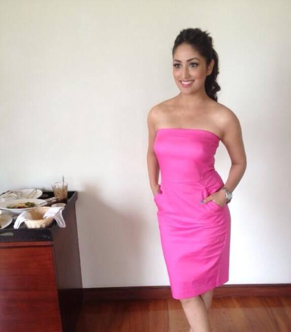 Yami Gautam Looking Lovely At The Cornetto Couple Hunt Event