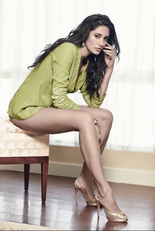 Nargis Fakhri Milky Legs Show Sexy Photo Shoot For Maxim Magazine July 2013