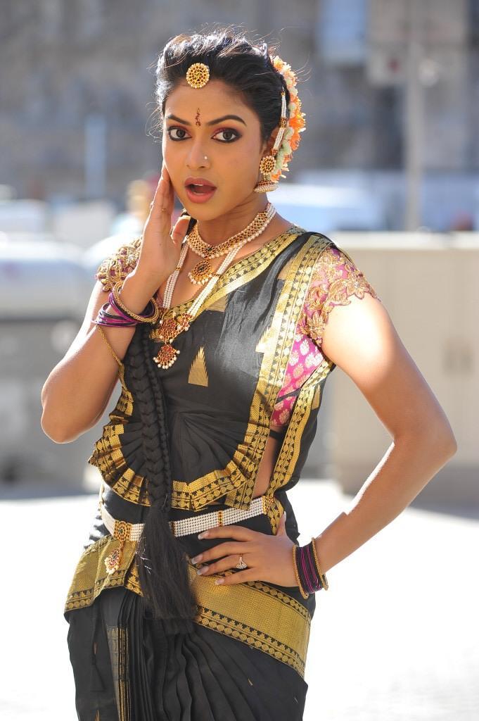 Telugu Actress Amala Paul Traditional Dancing Still