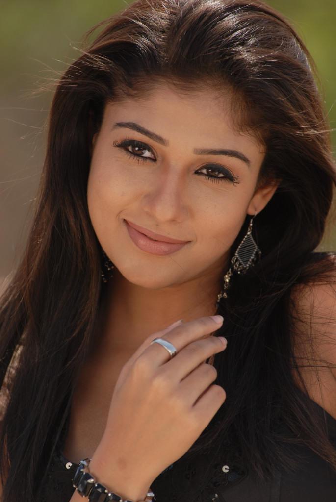 Nayanthara In Black Dress Attractive Look Still