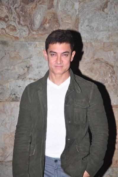 Aamir Khan At His Special Screening Of Ship Of Theseus