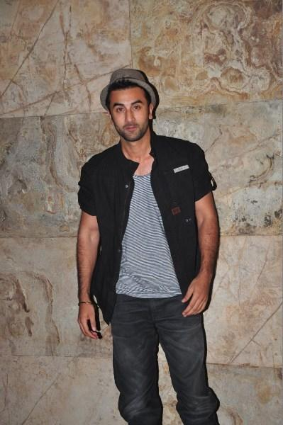 Ranbir Kapoor During The Special Screening Of Ship Of Theseus