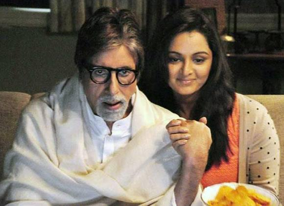 Amitabh And Manju Kalyan Jewellers Ad Shoot Still