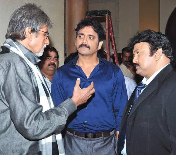 Amitabh Bachchan Joins Nagarjuna And Other South Stars For Kalyan Jewellers