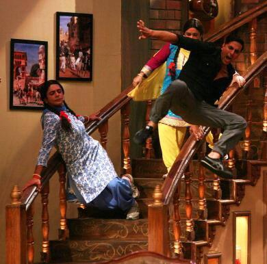 Akshay Kumar In Comedy Nights With Comedians