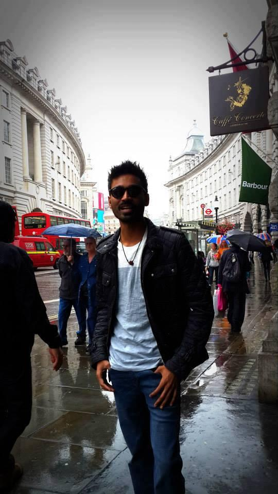 Dhanush Latest Stylist Pic From London