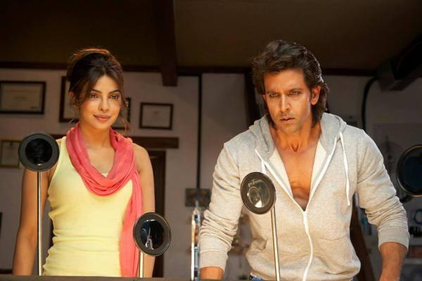 Hrithik And Priyanka A Still From The Movie Krrish 3