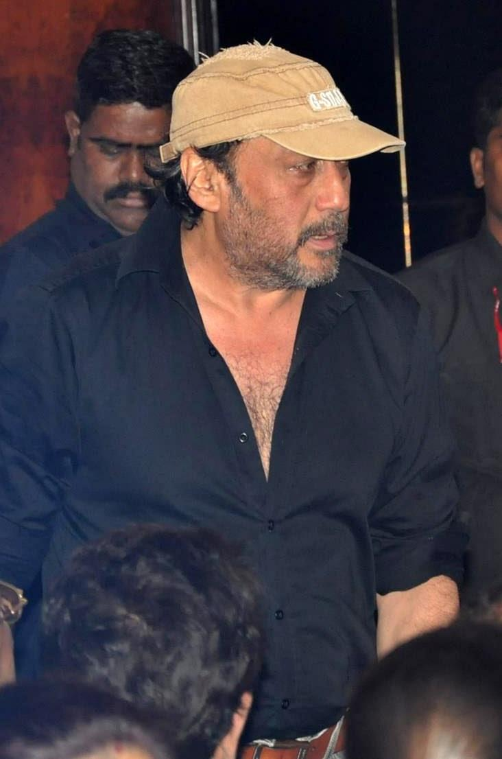 Jackie Shroff Arrives The Statue Launch Event Of Rajesh Khanna