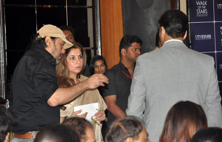 Jackie Talk With Dimple At Rajesh Khanna's Statue Launch Event