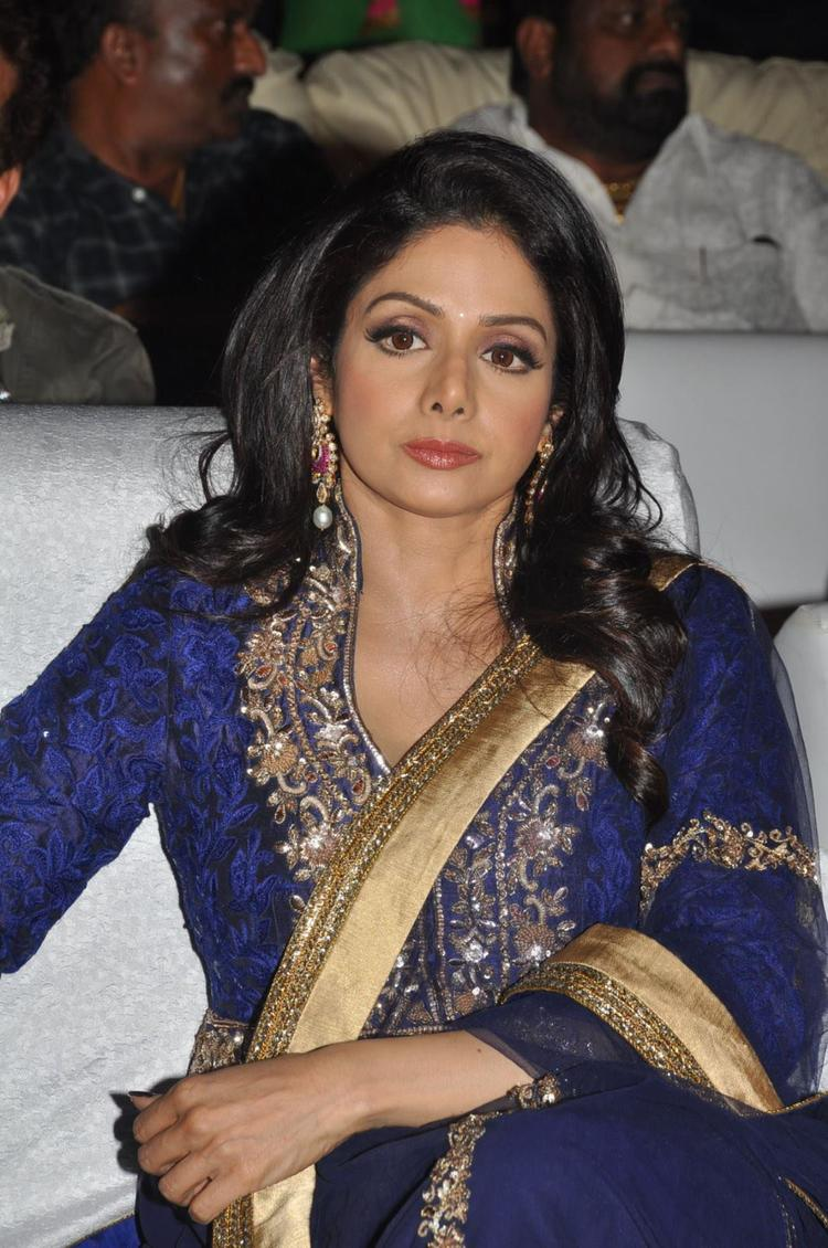 Sridevi Kapoor Ultra Divine Look At Tollywood Cinema Channel Launch Event