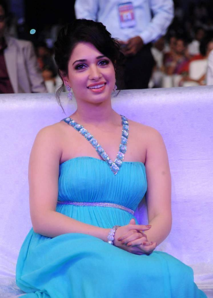 Tamannaah Bhatia Radiant Look At Tollywood Cinema Channel Launch Event
