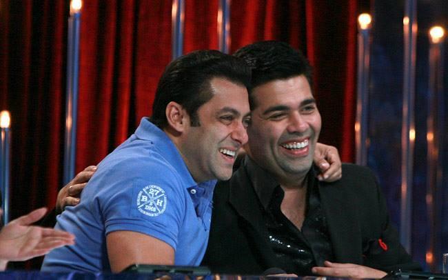Salman And Karan Smiling On The Sets Of Jhalak Dikhhla Jaa 6