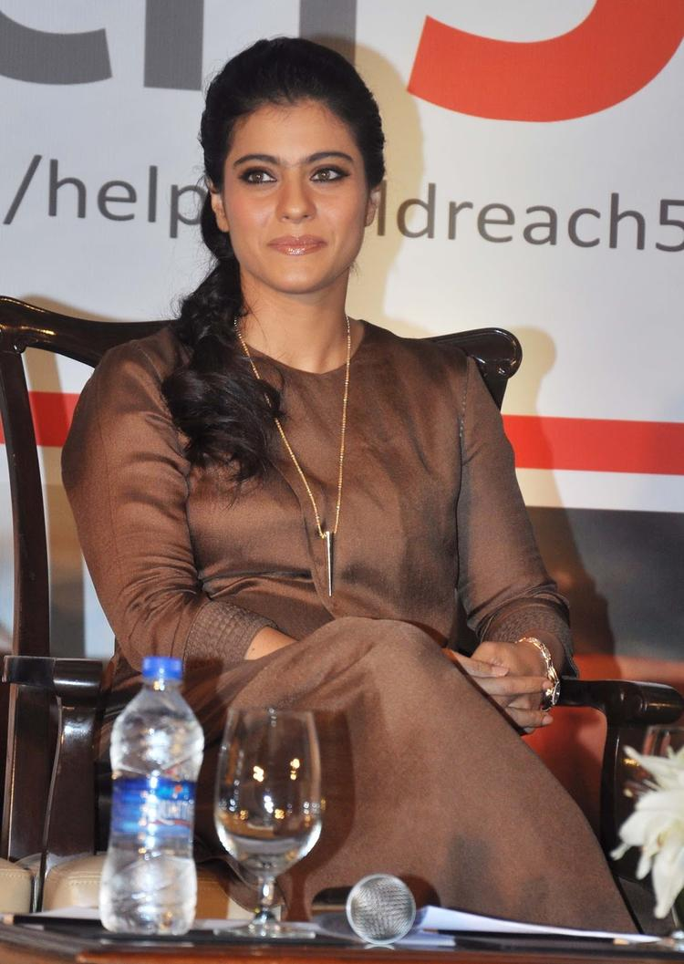 Kajol Attended A Help A Child Campaign Event In Mumbai