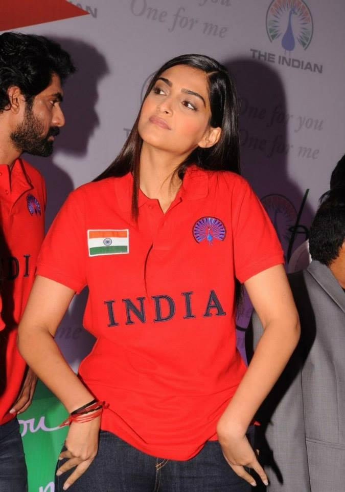Sonam Kapoor In Cool Mind At The Indian Brand Launch Event