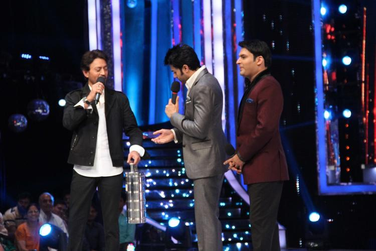 Irrfan Khan Fun With Manish And Kapil On JDJ 6 Stage