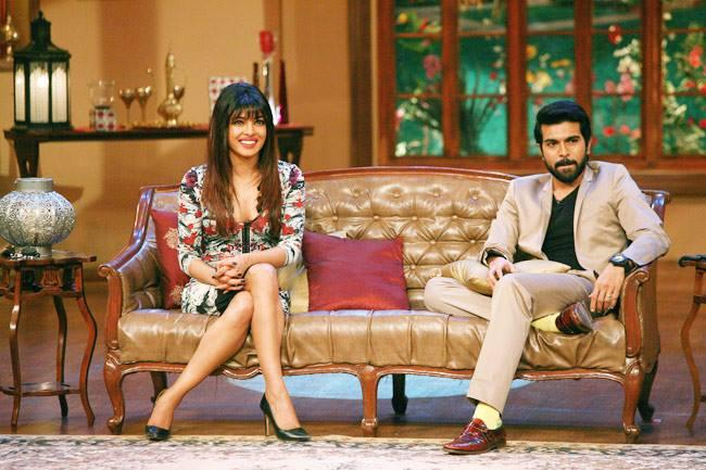 Priyanka And Ram Charan Promote Zanjeer On The Sets Of Comedy Nights With Kapil