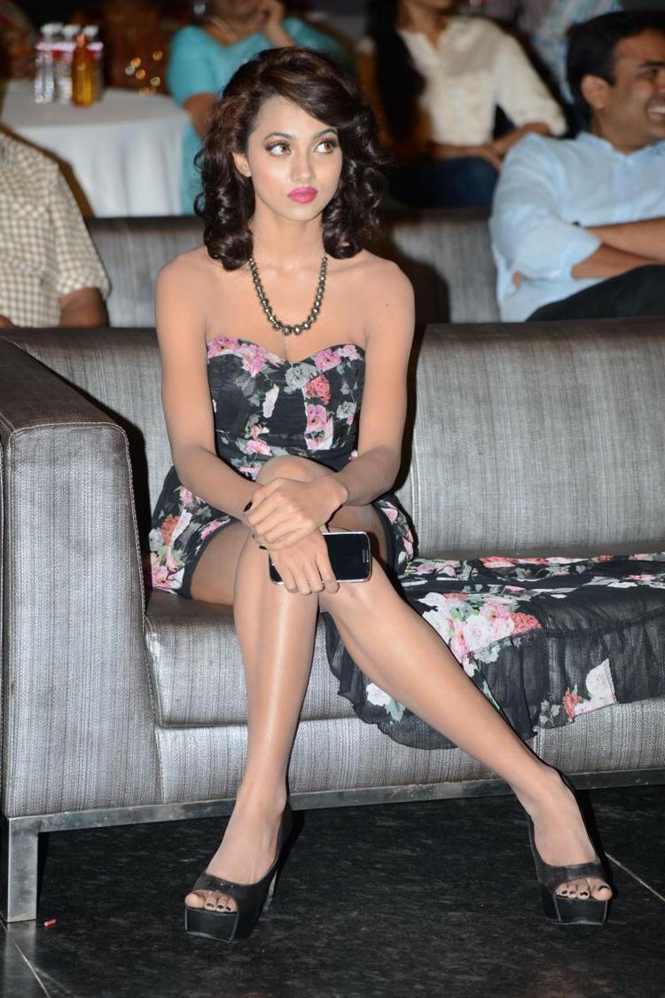 Telugu Actress Aaradhana Hot Photos At Satya 2 Movie Audio Release Function
