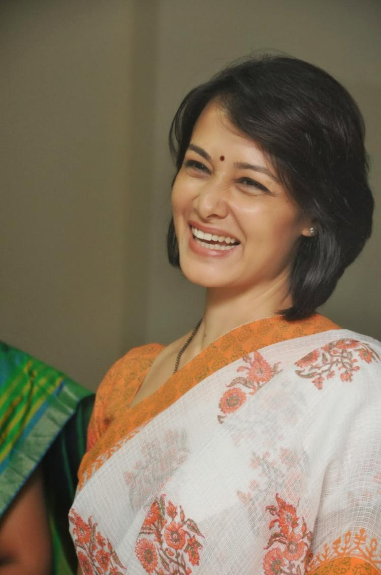 Amala Akkineni Cool Smiling During The Launch Of United Hospitals At Madhapur, Hyderabad