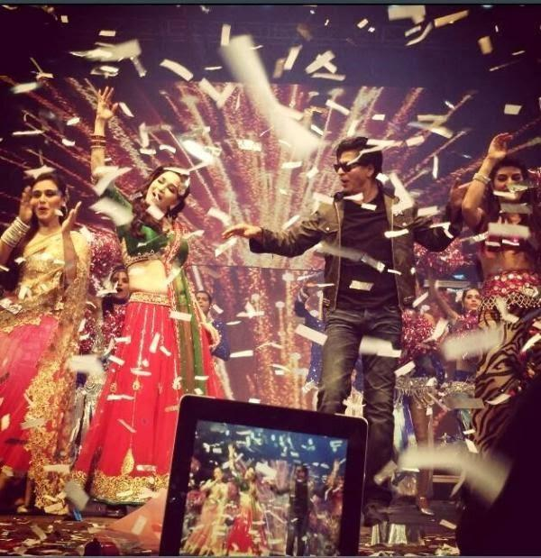 SRK And Madhuri Flawless Performance At Temptations Reloaded 2013 In Sydney