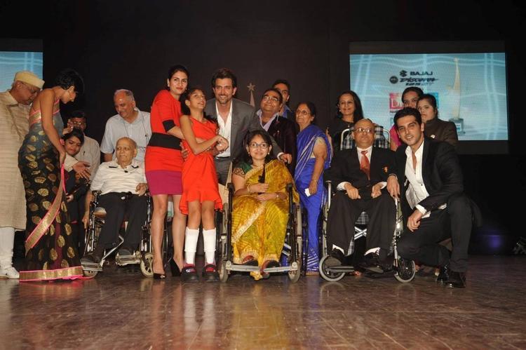 Hrithik Roshan and Zayed Khan At Dr Batra's Positive Health Awards 2013