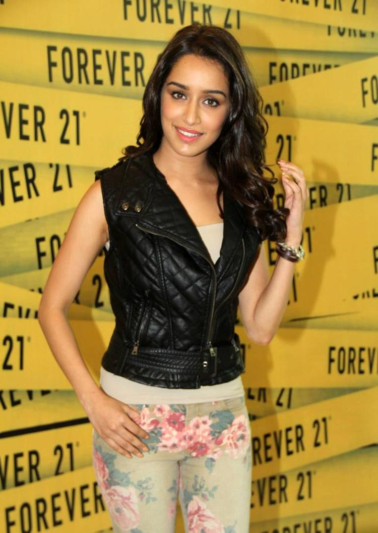 Shraddha Kapoor Attended Forever 21's Store Launch Event