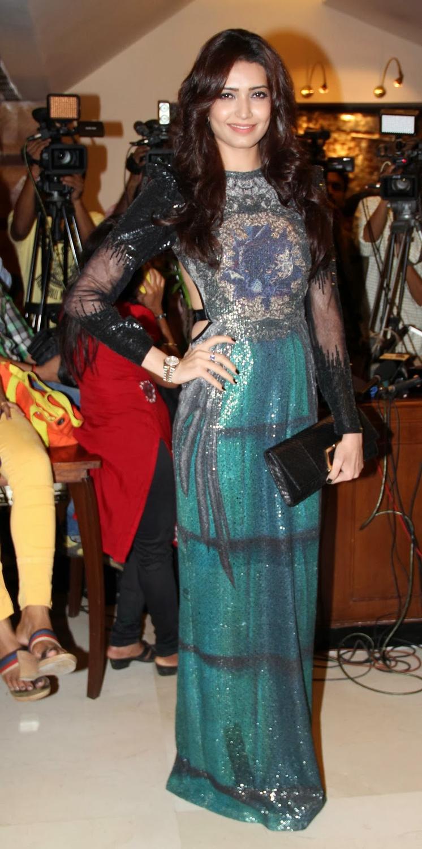 Karishma Tanna Pose For Photo Shoot During The Grand Masti 100 Crores Bash