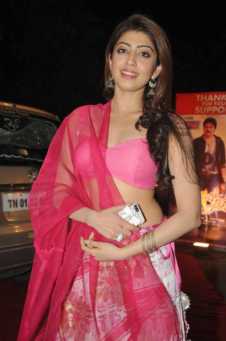 Pranitha Subhash Sizzles During The Thank You Press Meet Function Of Attarintiki Daredi Movie