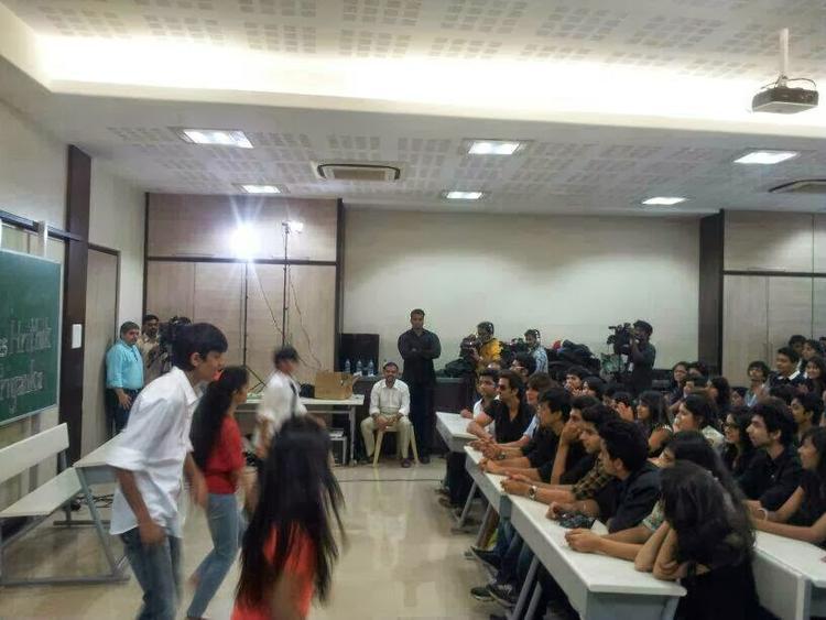 Mumbai's Mithibai College Students Dance Still