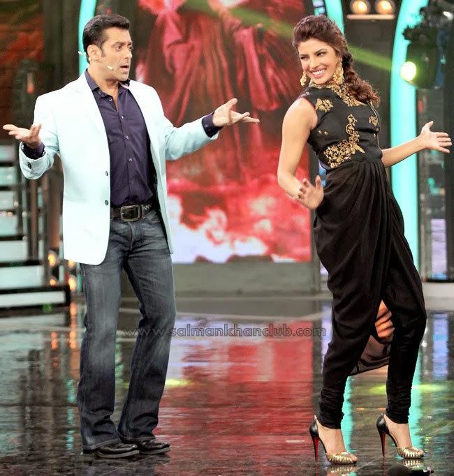 Priyanka Chopra Dances With Bigg Boss Salman Khan