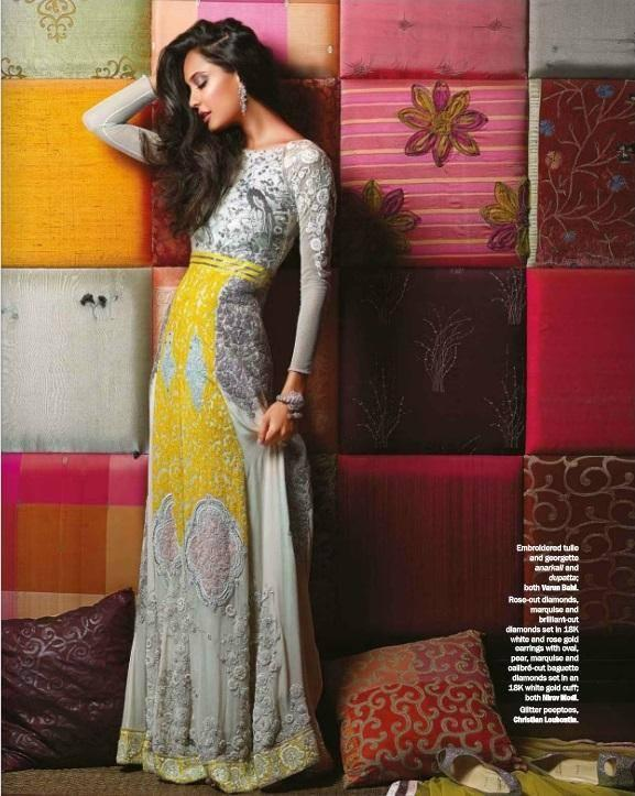 Lisa Haydon's Photoshoot For Noblesse Magazine November 2013 Issue