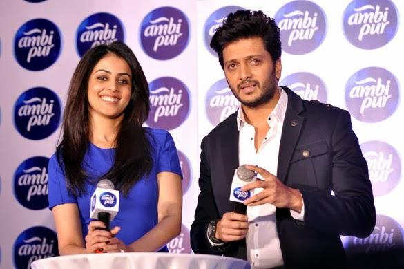 Riteish And Genelia Deshmukh Turn Love Gurus With Ambi Pur 4