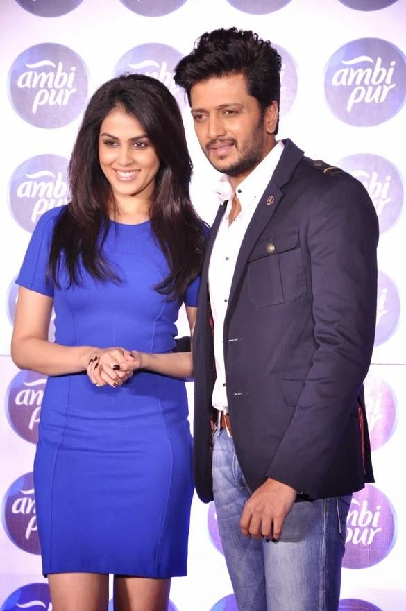Sizzling Jodi Riteish And Genelia Pose At Ambi Pur's Refresh Your Love Campaign Show
